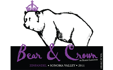 Bear & Crown Zinfandel Sonoma Valley 2011