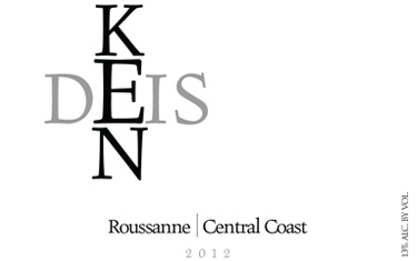 Ken Deis Roussanne Central Coast 2012