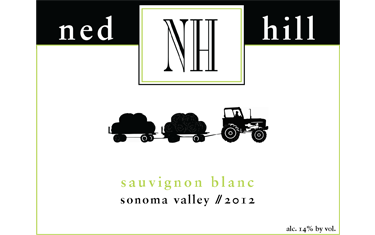 Ned Hill Sauvignon Blanc Sonoma Valley 2012