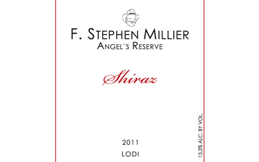 F. Stephen Millier Angels Reserve Shiraz 2011