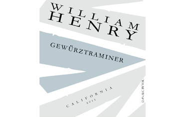 William Henry Gewurztraminer 2011