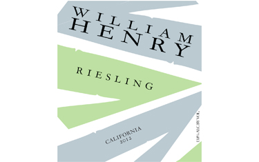 William Henry Riesling 2012