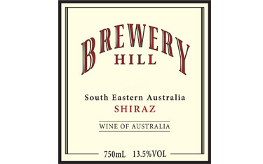Brewery Hill Shiraz 2010