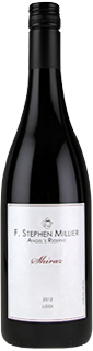 F. Stephen Millier Angels Reserve Shiraz 2012