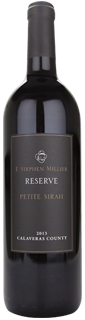 F. Stephen Millier Black Label Reserve Petite Sirah Calaveras County 2013