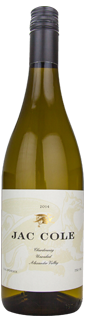 Jac Cole Unoaked Chardonnay Alexander Valley 2014