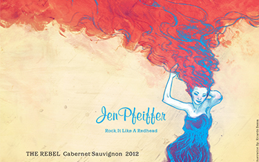 Jen Pfeiffer The Rebel Cabernet Sauvignon 2012
