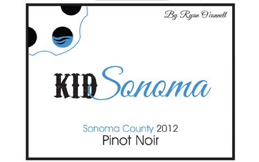 Ryan O'Connell Kid Sonoma Pinot Noir 2012