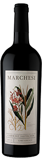 David Marchesi Lake County Cabernet Sauvignon 2015