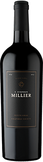 F. Stephen Millier Black Label Reserve Petite Sirah Calaveras County 2014