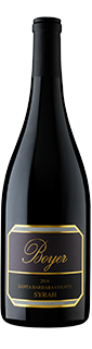 Rick Boyer Santa Barbara County Syrah 2016